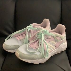 Adidas Cloudfoam Chunky Sneakers Shoes US 7